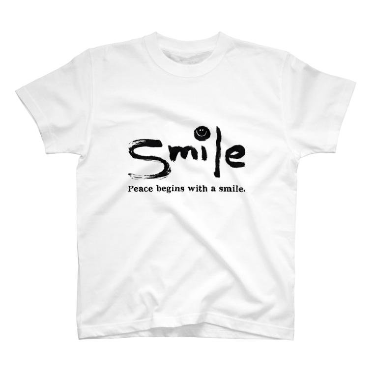 KASIのsmile T-shirts