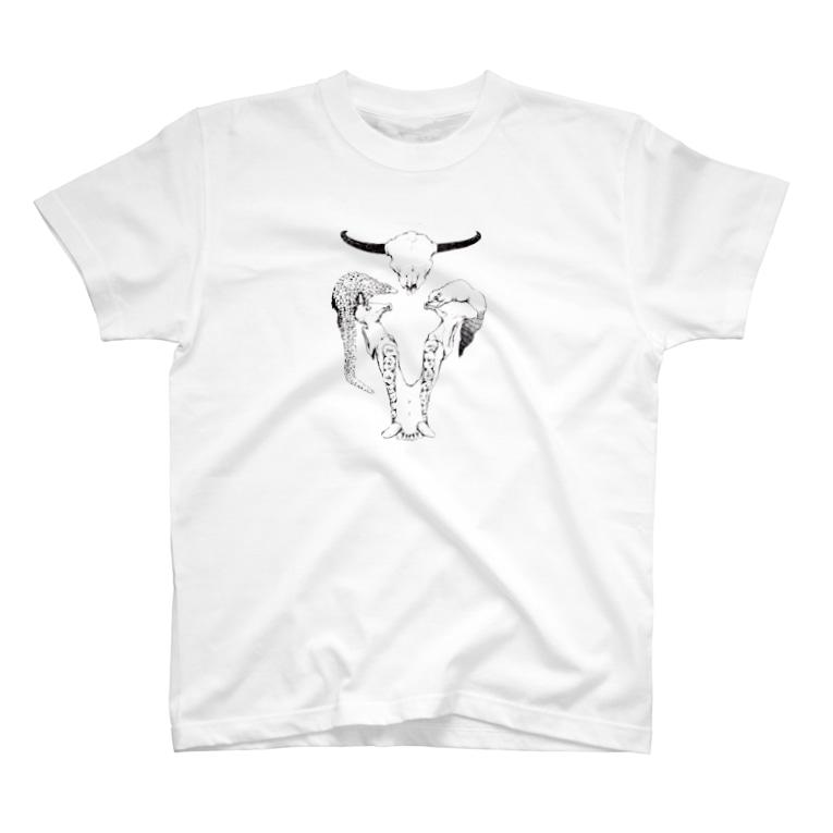 maooのbone T-shirts