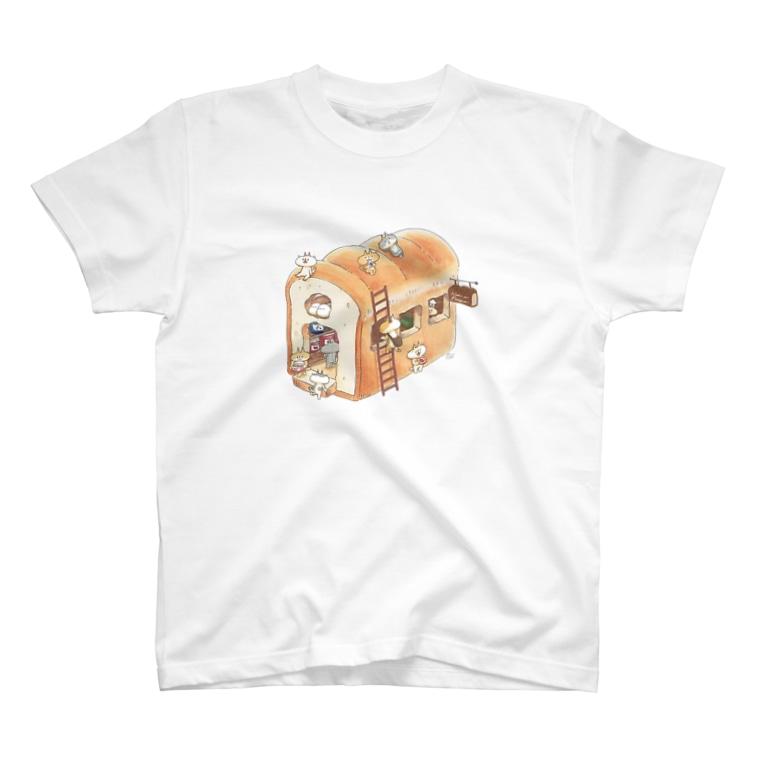 995(キュウキュウゴ)のパンのジャム屋さん T-shirts