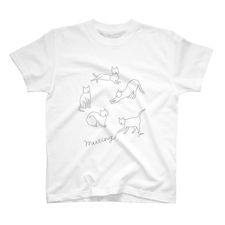 jobinのmeeting T-shirts