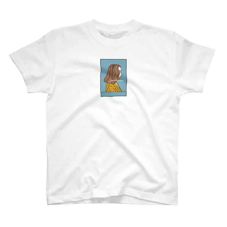 peachykeenの横顔のマリアンヌ T-shirts