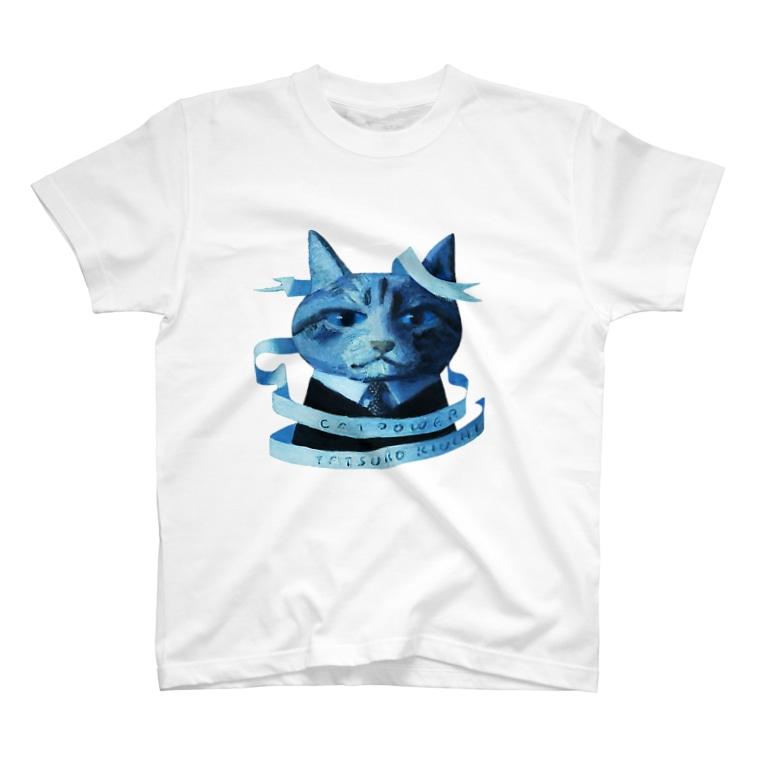 木内達朗オンラインショップのCat Power T-shirts
