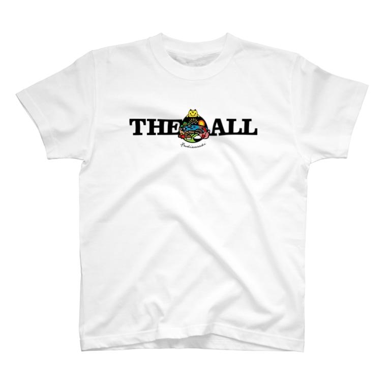 柏崎ファンクラブのkz_T03 kashiwazaki fc THEALL Fullcolor T-shirts