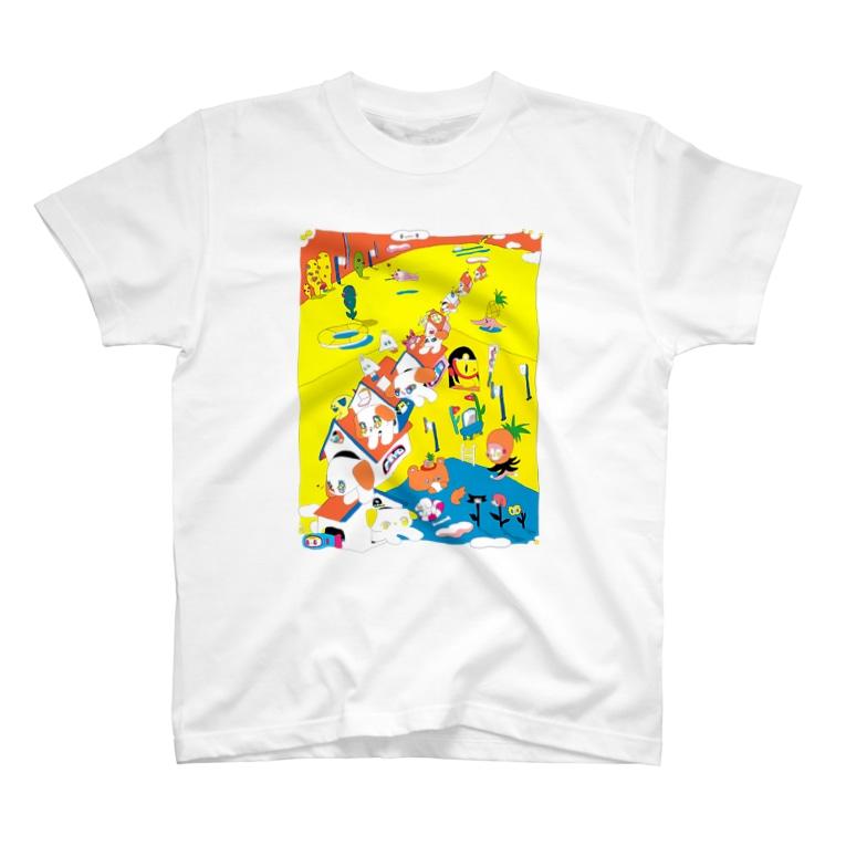 影山紗和子の夏休み T-Shirt