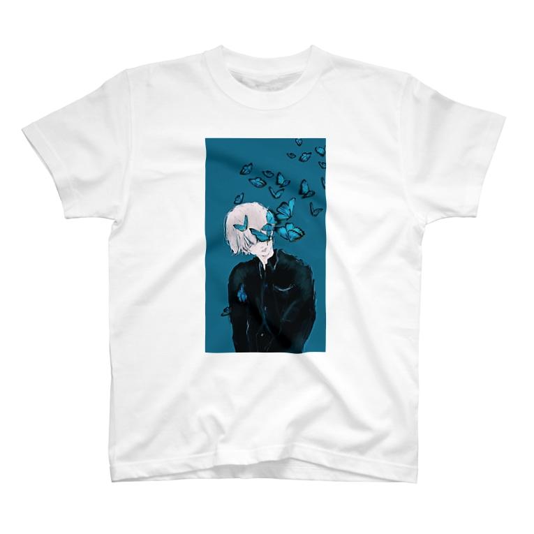 Ran.のアゲハ蝶 T-shirts