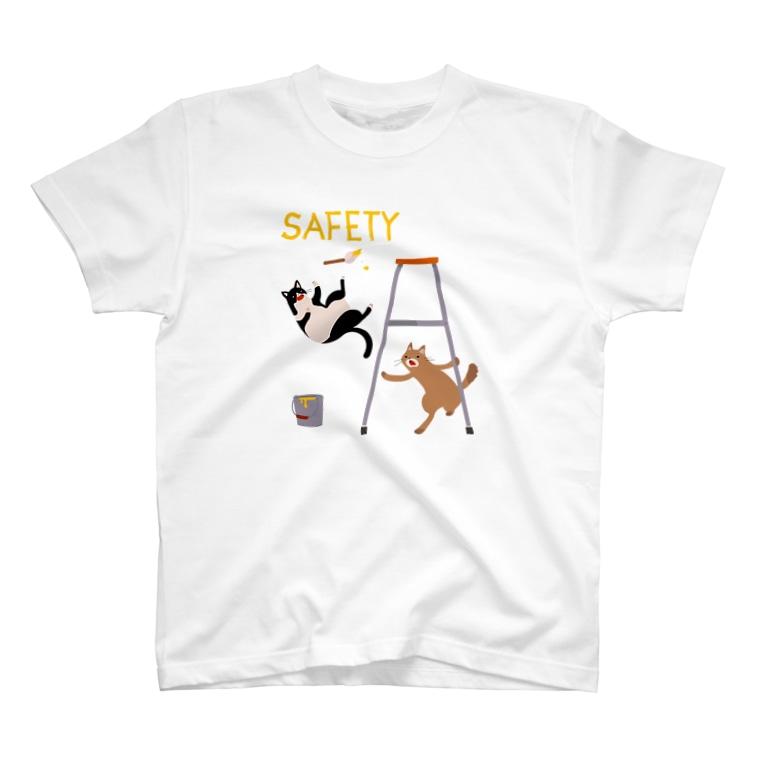 ひつじのあゆみのSAFETY T-shirts