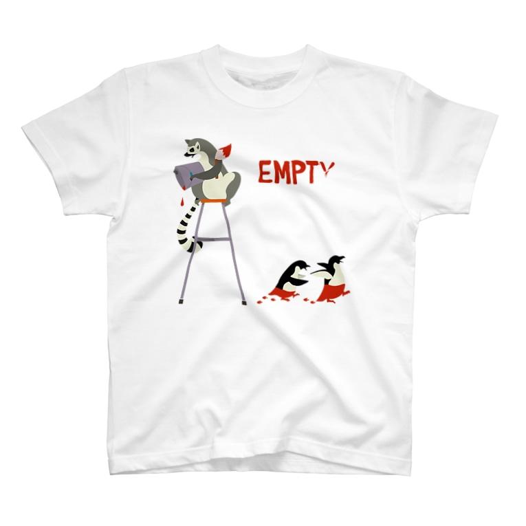 ひつじのあゆみのEMPTY T-shirts