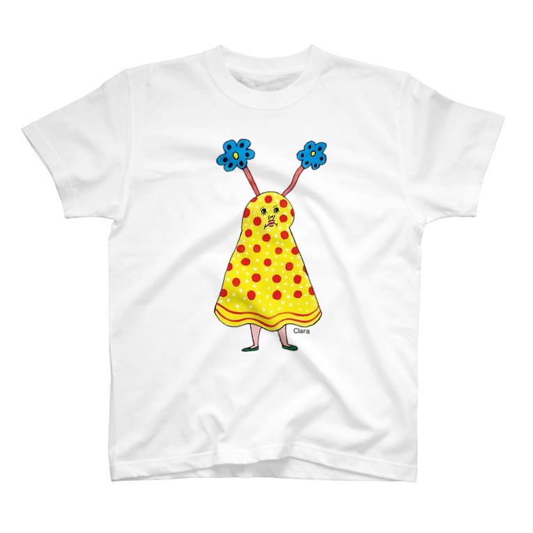 Claraのおみせのおばけ T-shirts