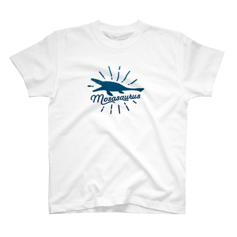 i-mokoの夏だ!モササウルス! T-shirts