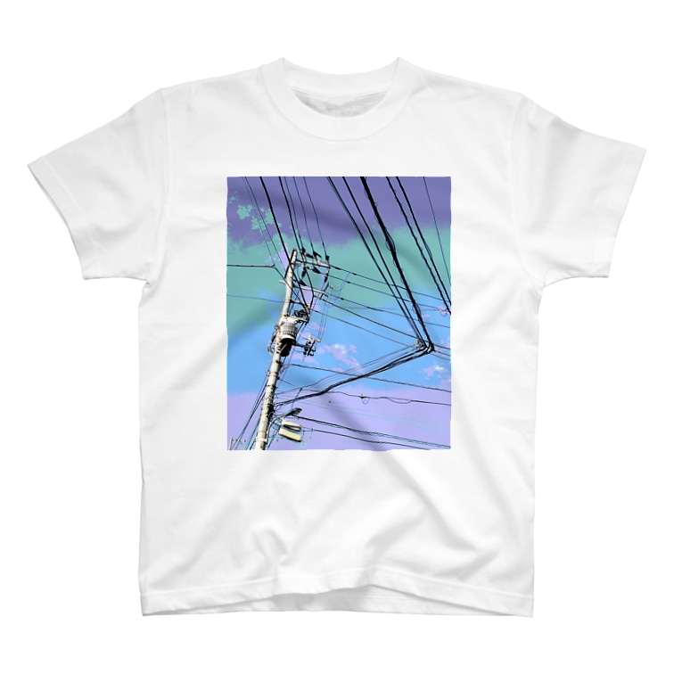 あにろりの電柱 1A T-shirts