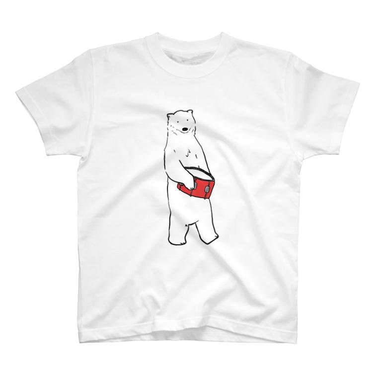 のわきのしろくま(スネア) T-shirts
