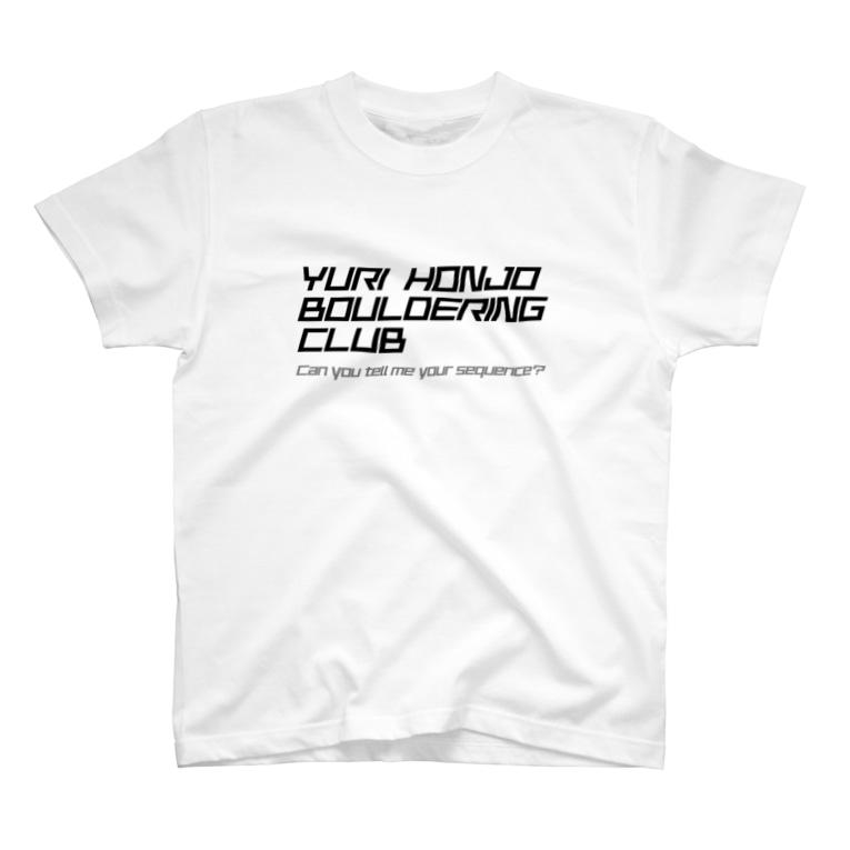 YHBC(由利本荘ボルダリングクラブ)のYHBC フルプリントTee(ホワイト) T-shirts