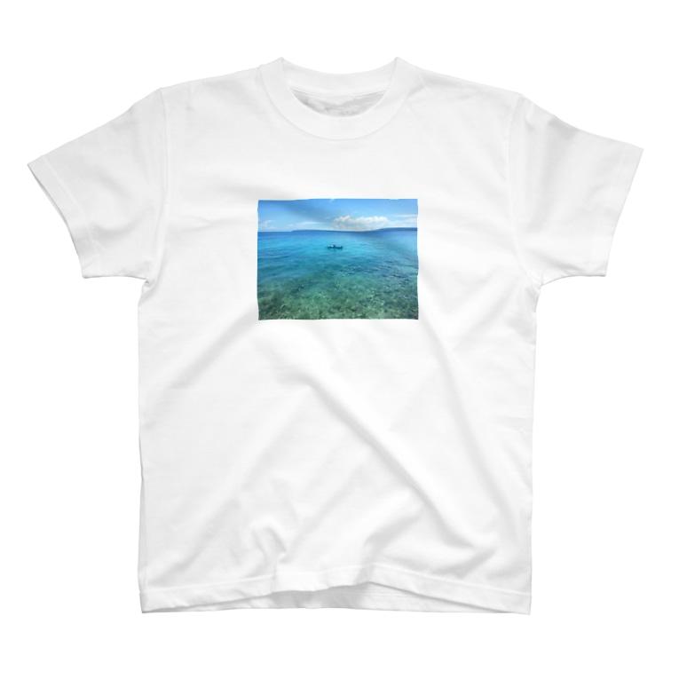 「ApRenDiz」のLight Blue World T-shirts