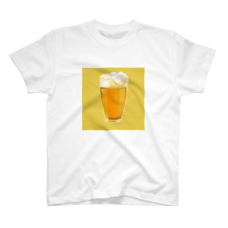 おしるこファクトリーのおビール T-shirts