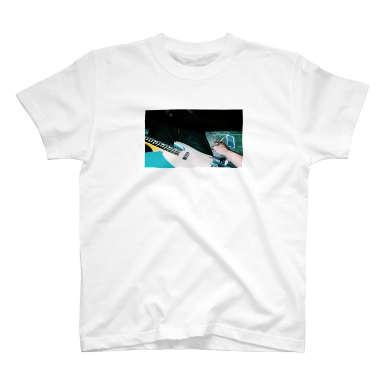 夏目ふみのギターと煙草 T-shirts