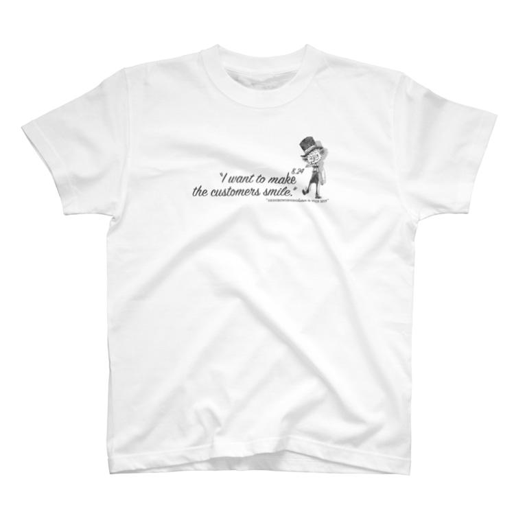 akemi suzuki📪✏️の8.24西野亮廣講演会スタッフTシャツ T-shirts