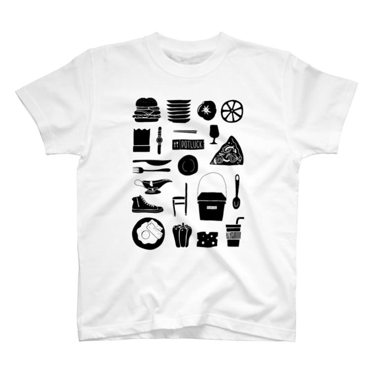 POTLUCK(ポットラック)のPOTLUCK Graffiti T-shirts