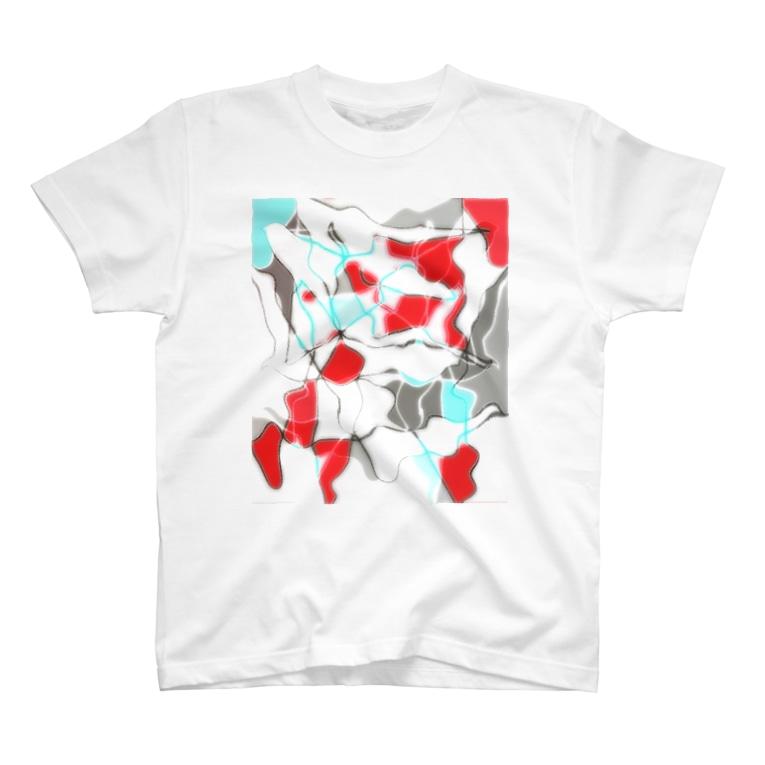 水草の金魚1 T-shirts