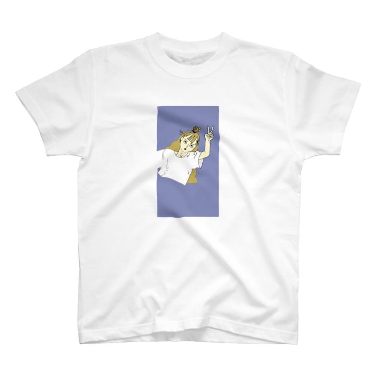 山下塔子のドープな女 T-shirts