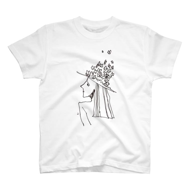 fDESIGNのfm_14b_予感 T-shirts