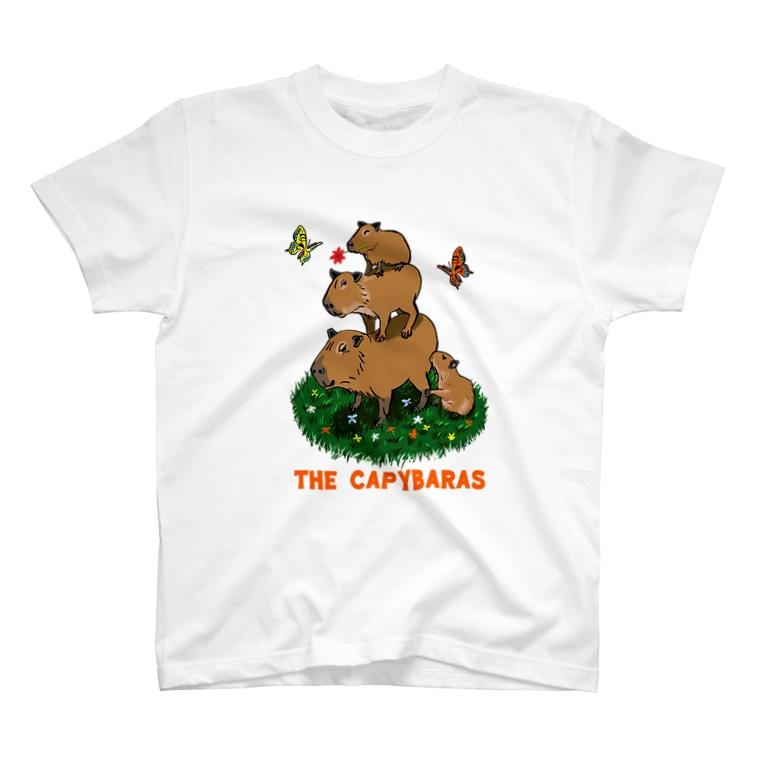 令和堂のthe capybaras T-shirts