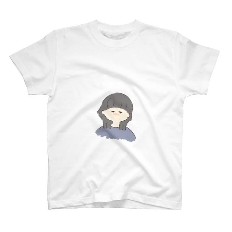 まるなべショップのウルフ女子 T-shirts