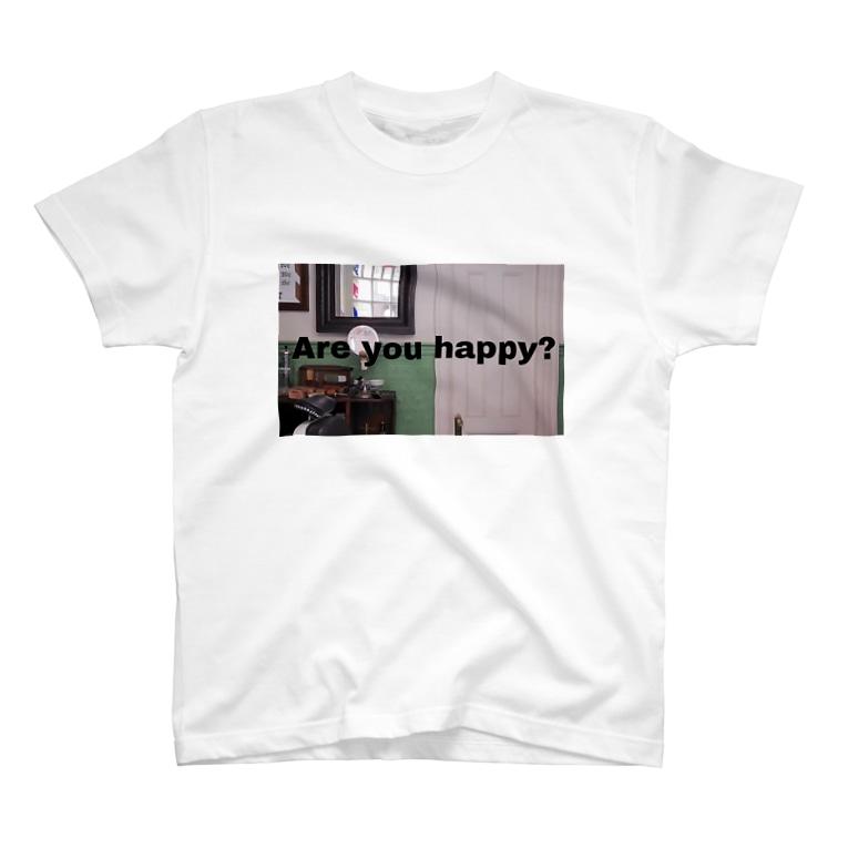 NAGISA 🙂のAre you happy?  T-shirts