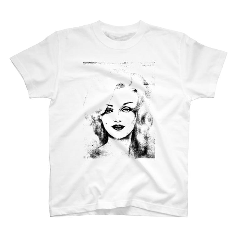 CandyLipのおんな:前面ver. T-Shirt