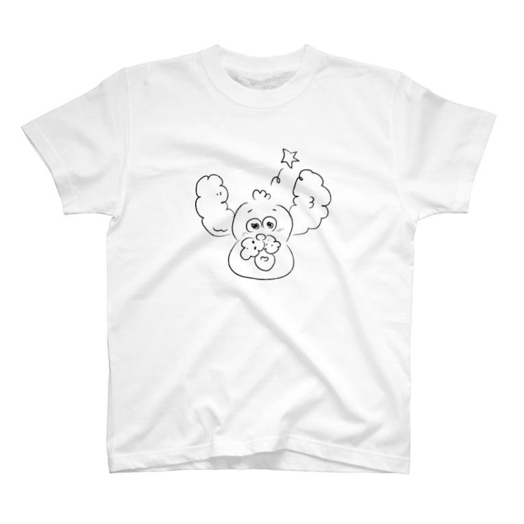脳内マーケット@スヤスヤのわんだふる T-shirts