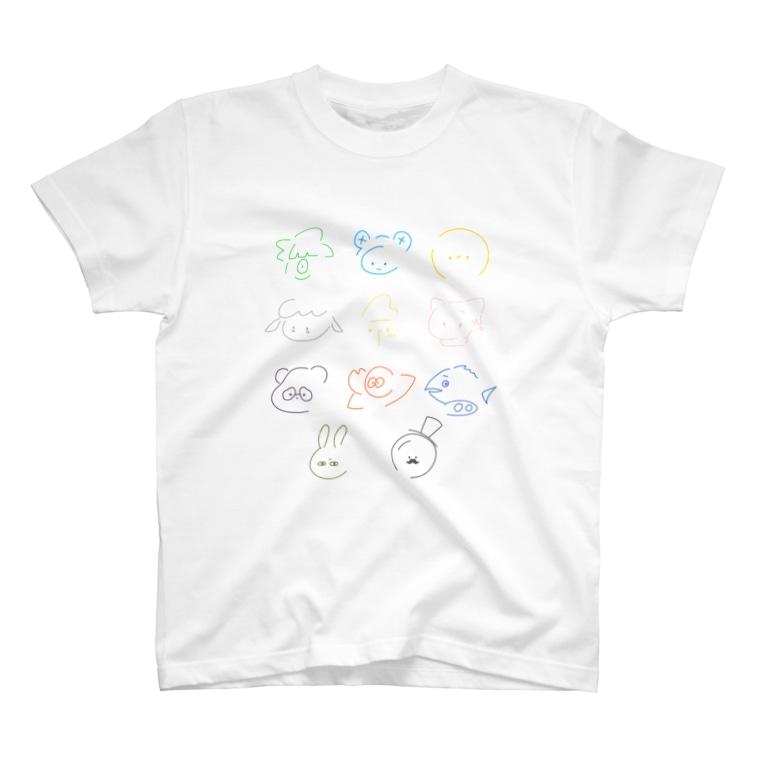 さらだふれんずのしんぷる大集合!(からふる) T-Shirt