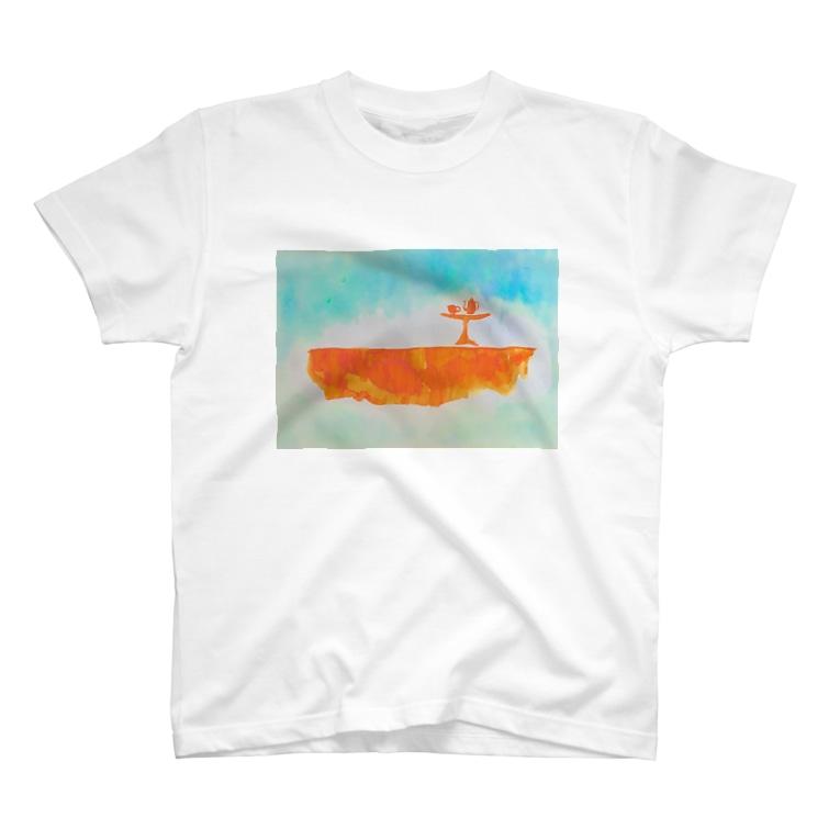 珈琲処ぼんのカフェと大地と風 T-shirts