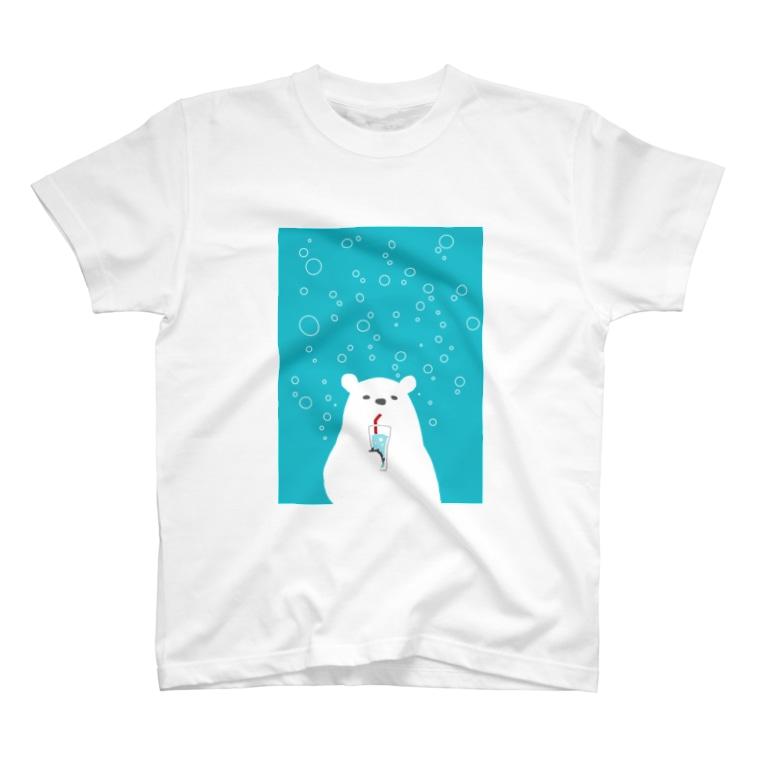 イタリアンクマのイタリアンクマ・ソーダ T-Shirt