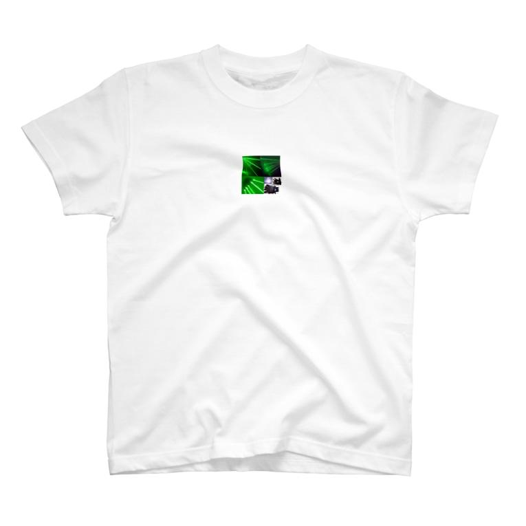50huakaijiaの高出力レーザーポインター カラス工事野外用指示棒 焼く性能高い T-shirts