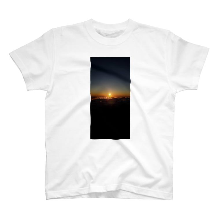 mikuwithtの御来光 T-shirts