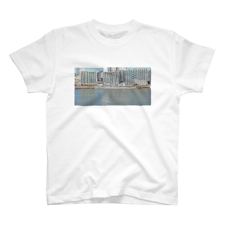 katidokimaruのステルス性バッチリ、護衛艦 T-shirts