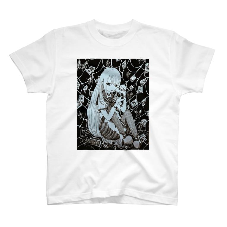 小桜 奈帆@固定ツイ必見のSpider girl Tシャツ T-shirts