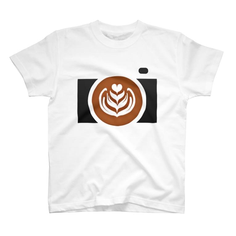 CafeSnap 公式アカウントのCafeSnap T-shirts