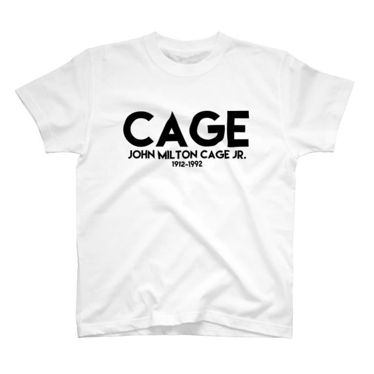 Extreme Shopのジョン・ケージ(CAGE) T-shirts