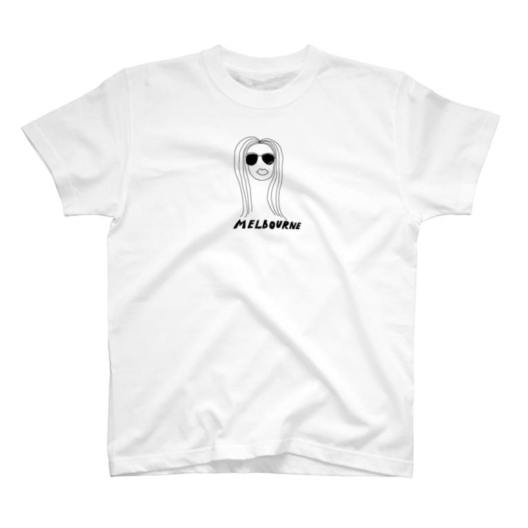 yoshiのゆるいメルボルン T-shirts