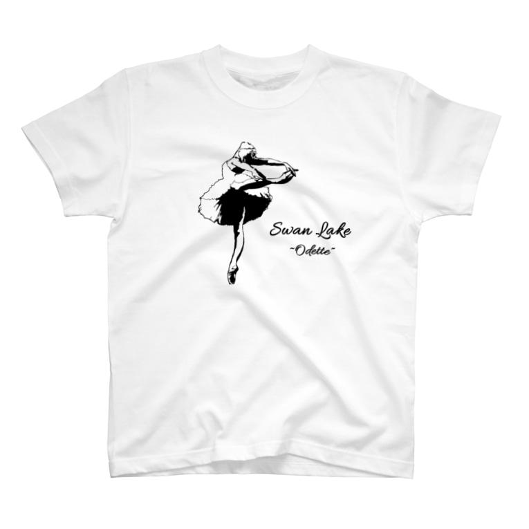 Ballet tiara shop EstherのSwan Lake (Odette) T-shirts