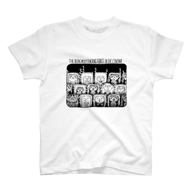 いちごだわし🐹のチャッリティグッズ*会場の盛り上がりは最高潮‼FEVERING FERRET🐹 T-shirts