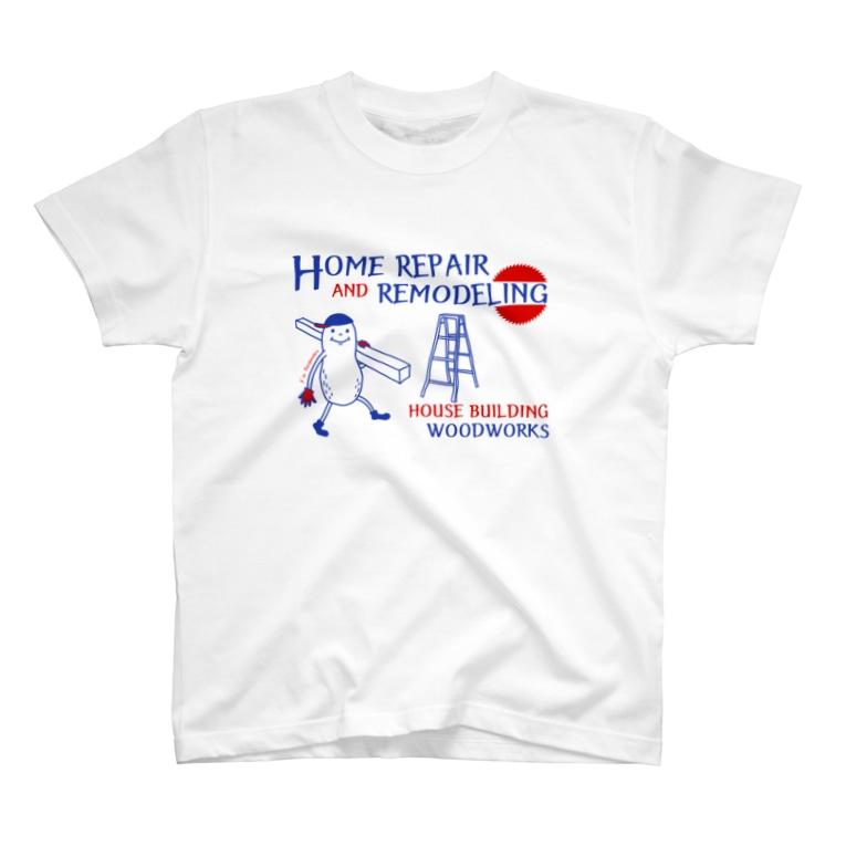 なかむらりか商店のカーペンターナッツA T-shirts