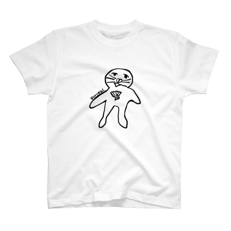 Creative store Mのsurreal_01(BK) T-Shirt