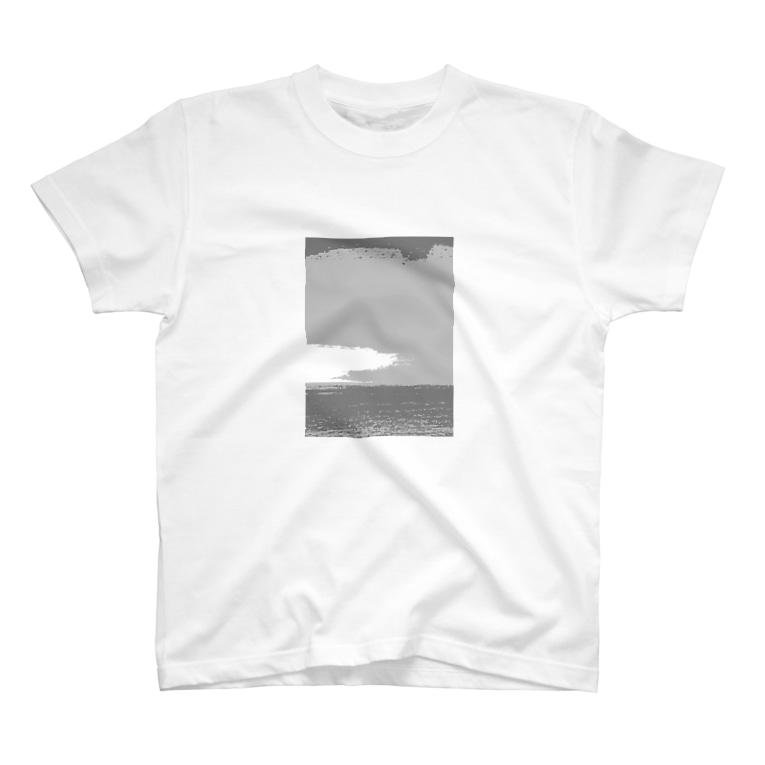 FutaseKuroのグラデーション T-shirts
