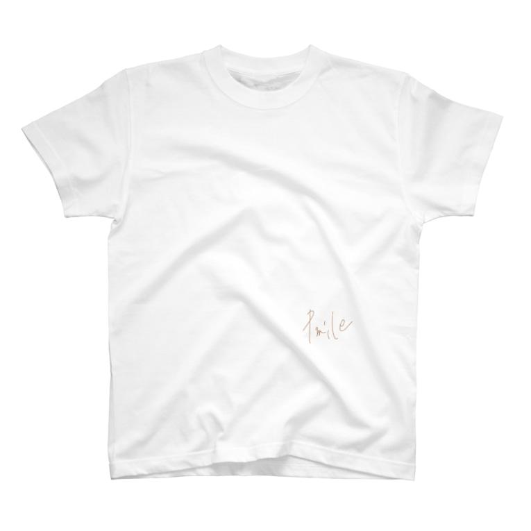 Pmileの+mile T-shirts