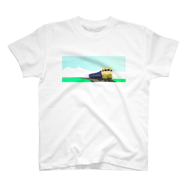 Danke Shoot Coffeeの田園を走る T-shirts