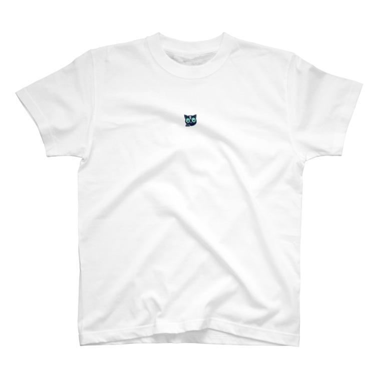 クロスにゃん:クロスウォーク広報のにゃにゃにゃにゃにゃにゃにゃにゃ T-shirts