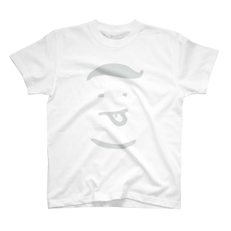 colon-pのコロンピさんのTシャツ(ホワイトロゴ) T-shirts