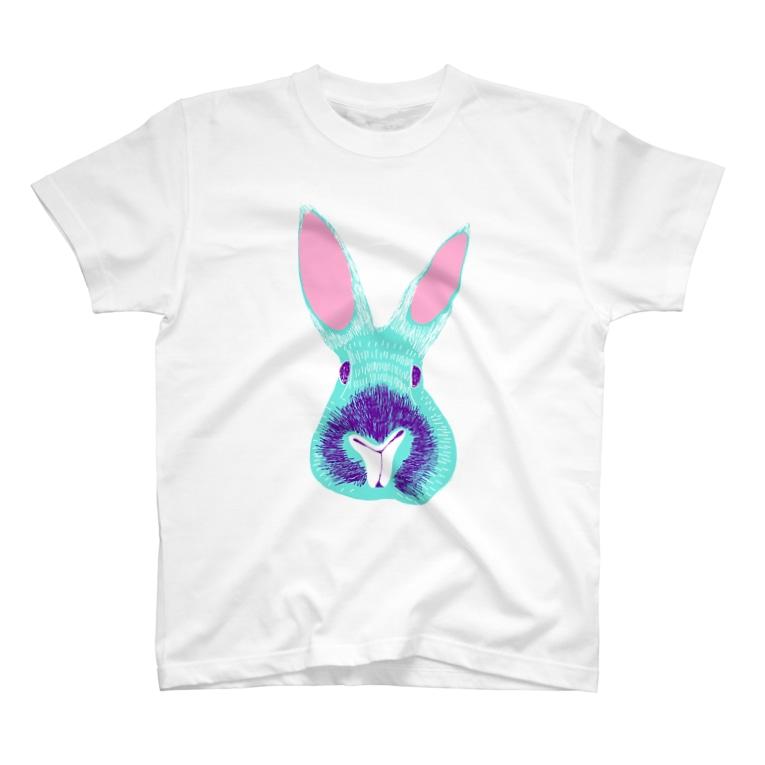 NIKORASU GOのゆめかわウサギ T-shirts