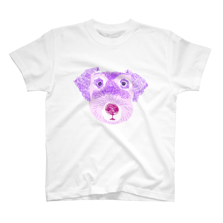 NIKORASU GOのゆめかわいいイヌ T-shirts